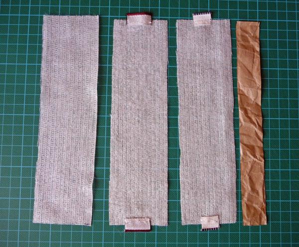 Как сделать ткань жесткой с а